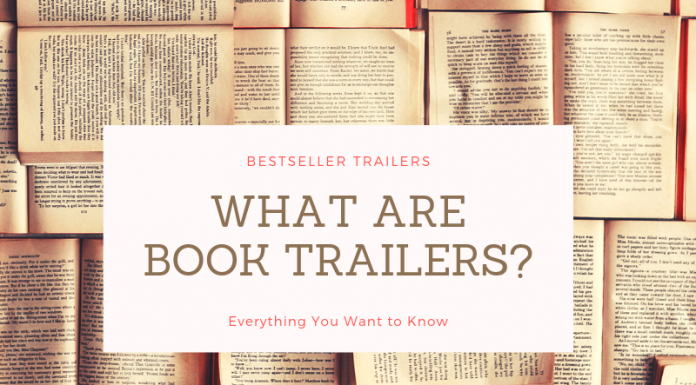 What is a book trailer?