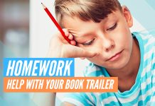 book trailer homework project planner