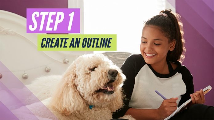 Book Trailer Homework Project Planner: Make an Outline