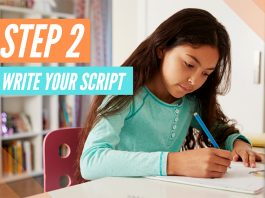 How to write a script for your book trailer