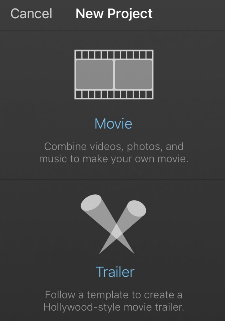iMovie Book Trailer: Screenshot showing how to use iMovie to make a book trailer