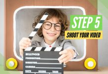 How to film your book trailer video