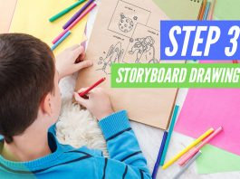 How to storyboard a book trailer