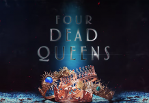 Four Dead Queens Book Trailer